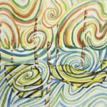 Boats energy healing painting