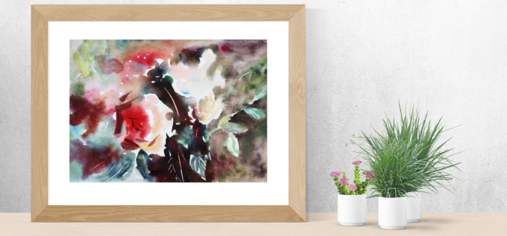 Beauty of the Rose Painting